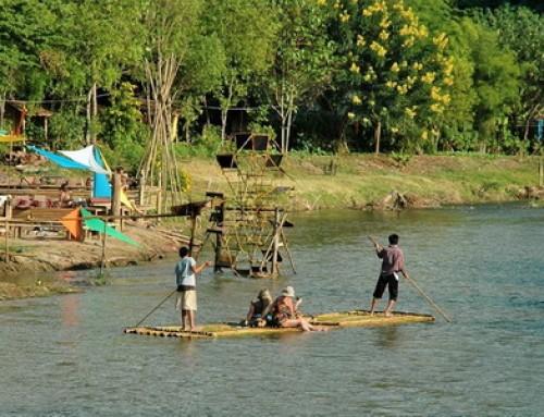 Pai Day Tour09 : Pai Bamboo Rafting