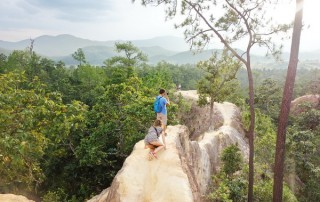 pai canyon, kong lan, tour pai green season, tour pai, budget tour in pai, pai join in group tour