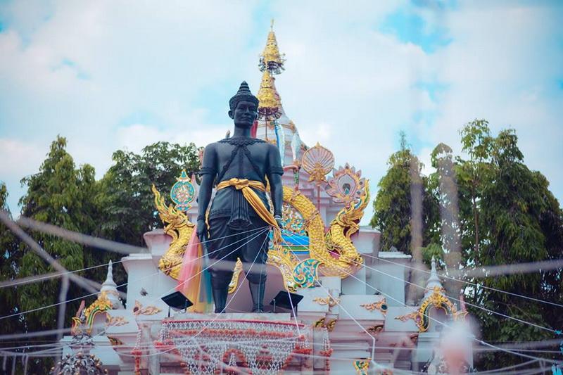 pho khun ngam muang monument, pho khun ngam muang, pho khun ngam muang in phayao, pho khun ngam muang monument in phayao