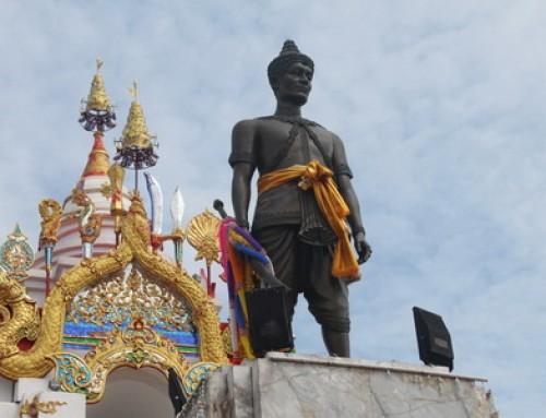 Pho Khun Ngam Muang Monument