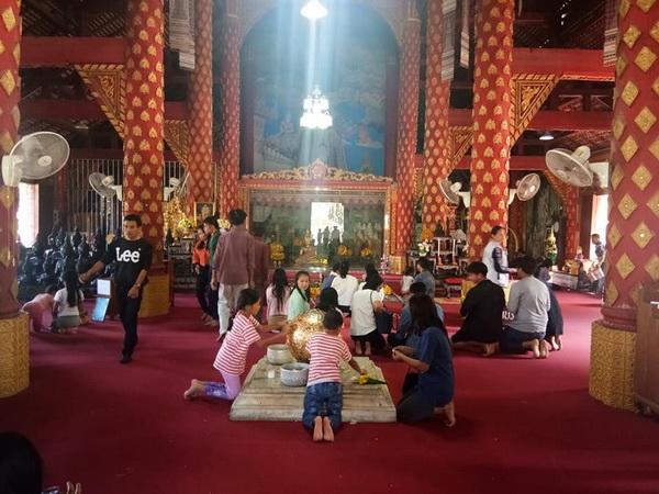 phra nang din temple, wat phra nang din, phra nang din temple in prayao, wat phra nang din in prayao