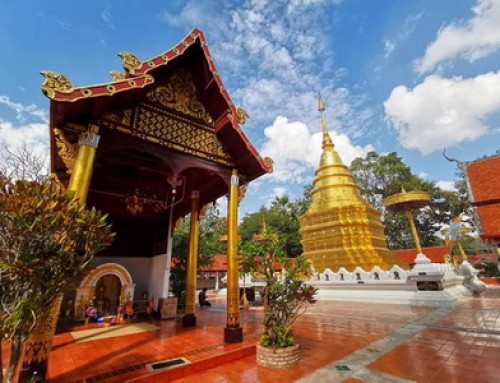 Phra That Chom Tong Temple