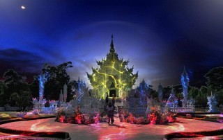 wat rong khun light fest, wat rong khun light festival, wat rong khun light fest 2019, wat rong khun light festival 2019, white temple light fest, white temple light fest 2019, white temple light festival 2019, white temple light festival