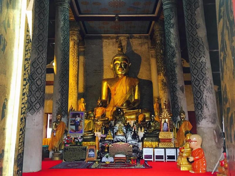 wat phra barommathat tung yang, wat phra borommathat tung yang, wat tung yang, wat phra barommathat, wat phra borommathat, important temple in uttaradit