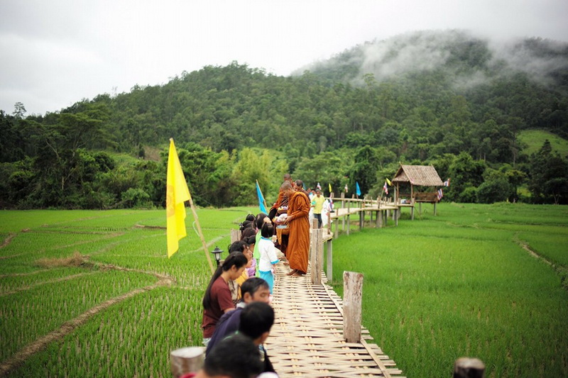 kho kuu so bridge, kho khu so bridge, kho ku so bridge, pai bamboo bridge, kho kuu so bridge in pai, kho khu so bridge in pai, kho ku so bridge in pai